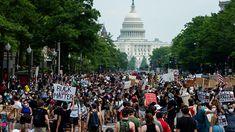 Ουάσινγκτον: Χιλιάδες διαδηλωτές στους δρόμους για τον Τζορτζ Φλόιντ Social Contract, Political System, Civil Society, Anti Racism, The Washington Post, Police, Dolores Park, Compact, News Online