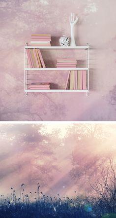 Tapete | Fototapete | moderne Tapete | Mural Tapete | Wandgestaltung | Wandverkleidung | Tapete Schlafzimmer | Tapete Wohnzimmer | Tapete Flur | Tapete Kinderzimmer | Wanddeko | Wanddekoration | Designer-Tapete | Wandfarbe | Vliestapete | rosa Tapete | Tapete pink | Natur | Naturmotiv | Landschaft | Wald | Bäume Wallpaper Childrens Room, Kids Wallpaper, Room Wallpaper, Pattern Wallpaper, Tapete Beige, Bedroom Decor, Wall Decor, Modern Wallpaper, Living Room Tv