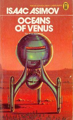 Isaac Asimov - Oceans of Venus (NEL Cover)