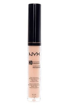 """""""I'm typically one to spend an arm and a leg on complexion products. But, NYX has totally changed that with this concealer: I've been using it for a few months, and nothing covers up my red spots and pimples better. I've even taken to using it as a highlighter, since the formula has light-diffusing particles that double to create an illuminating effect."""" — Maria Del Russo"""
