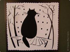 Вытынанка - Коты и кошки 4