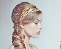 Greek Godess Metal Headband