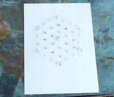 WALL ART Feng Shui Healing Crystal Grid Flower by CrystalGrids