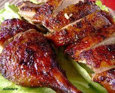 Goose Recipes, Duck Recipes, Asian Recipes, Great Recipes, Chicken Recipes, Favorite Recipes, Asian Foods, Filipino Recipes, Chinese Roast Duck