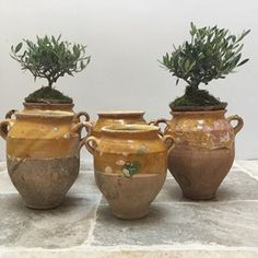 Anton & K - Collection of Rustic French 19thC Confit Pots - plus, French antique furniture, art deco interior decoration, painted chests, mirrors and more