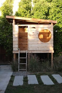 There are loads of distinct playhouses and backyard playground collections to pick from in the shops today, but occasionally it . Read DIY Playground Project Ideas for Backyard Landscaping Backyard Fort, Backyard Playhouse, Build A Playhouse, Backyard For Kids, Backyard Projects, Modern Playhouse, Backyard House, Kids House Garden, Kids Playhouse Plans