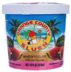 OC Slush Watermellon http://tomsfoodieblog.com/2013/09/17/product-review-oc-slush/