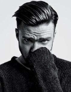 Justin Timberlake by Hedi Slimane - T Magazine, 2013