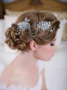 Beautiful Brooch Hair Adornment