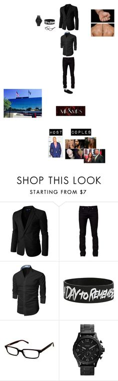 """Mr & Mrs Colby's Outfit Formal"" by wwetnagirl ❤ liked on Polyvore featuring Doublju, Tiger of Sweden, Scojo, FOSSIL, Vans, men's fashion and menswear"