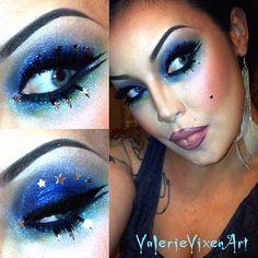 starry eyed surprise  - @valerievixenart- #webstagram