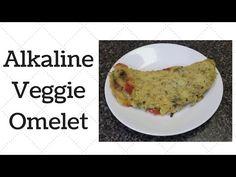 Veggie Omelet Alkaline Electric Recipe - YouTube