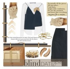 """""""What to Wear: Blind Date"""" by eula-eldridge-tolliver ❤ liked on Polyvore featuring Tom Ford, Jacquemus, Charlotte Olympia, H&M, Kendra Scott, Alex and Ani, women's clothing, women, female and woman"""