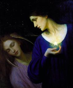 Night and Her Daughter Sleep by Mary L. Macomber