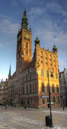 Gdansk, Poland - Town Hall