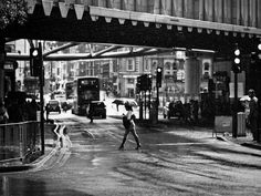 Gentle Summer Rain, London Bridge  by Adde Adesokan