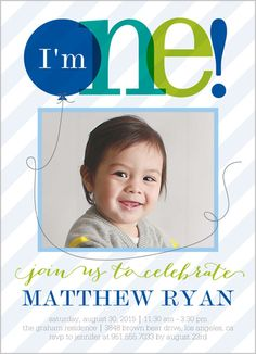 Balloon breeze boy 5x7 stationery card by petite lemon shutterfly balloon breeze boy 5x7 stationery card by petite lemon shutterfly 1st birthday ideas pinterest flats invitations and birthdays filmwisefo