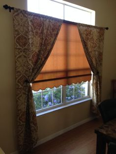 Dress Up A Roller Shade With Scalloped Edges Decorative