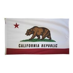 Annin Flagmakers 5-Feet by 8-Feet Tough-Tex California State Flag by Annin Flagmakers. $75.91. Open weave reduces fabric stress. Resist hot dry winds. Longest Lasting Flag Made. 100-percent 2-ply spun woven polyester fabric. Tough-tex polyester 5-feet by 8-feet California state flag made to official state design specifications for outdoor or indoor or parade. Save 31%!