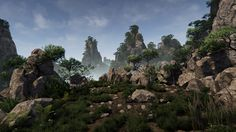 Huangshan Mountains UE4 - Polycount Forum