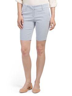 City Fit Seersucker Shorts