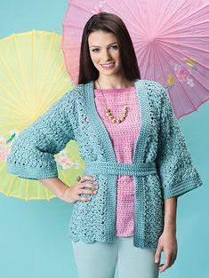 Ravelry: Obi Cardigan pattern by Elena Malo
