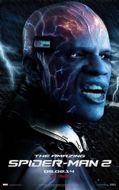 amazing spiderman 2 posters | the amazing spider man 2 poster electro 610x975 Amazing Spider Man 2 ...