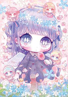 on A Chibi lolli eating a lolli. Time to go to jailA Chibi lolli eating a lolli. Time to go to jail Art Kawaii, Manga Kawaii, Cute Kawaii Drawings, Kawaii Chibi, Kawaii Anime Girl, 5 Anime, Cute Anime Chibi, Anime Art, Hair Manga