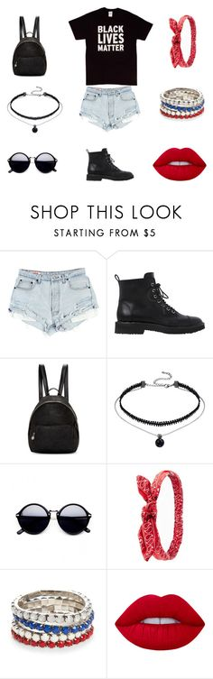 """""""Black lives matter"""" by fashionprincess2014 ❤ liked on Polyvore featuring Giuseppe Zanotti, STELLA McCARTNEY, Charlotte Russe, Red Camel, Lime Crime, CasualChic, BlackLivesMatter and chantellepolyvore16"""