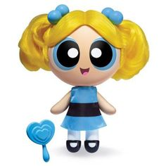 The Powerpuff Girls, 6 Inch Deluxe Dolls, Bubbles, by Spin Master, Multicolor