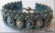 Cabochon brodé, spirales et bracelet babylon... - le blog alcaline.bijoux.et.perles