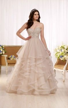 Essense of Australia Wedding Dresses - Search our photo gallery for pictures of wedding dresses by Essense of Australia. Find the perfect dress with recent Essense of Australia photos. Wedding Dress Gallery, Wedding Dress Pictures, Best Wedding Dresses, Wedding Gowns, Wedding Cakes, Princess Ball Gowns, Princess Wedding, Princess Cut, Princess Dresses