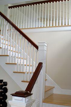 Georgian staircase.
