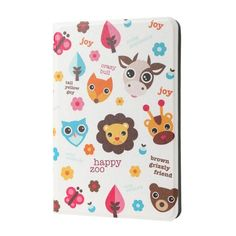 Lofter - iPad Mini 4 Hoes - Book Cover Happy Zoo | Shop4TabletHoes