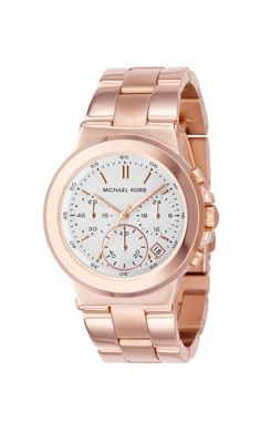Rose Gold Michael Kors watch... Been eyeing this watch for awhile.. Think I see it in my near future??