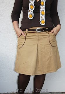 Skirt Amy, sewn by wollixundstoffix