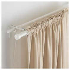 69 Best Double Curtain Rods Images Cafe Curtain Rods