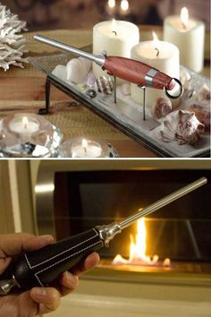 Move over plastic lighters and matches, finally, there's a tool worthy of the fire it flames. 6 designs available.