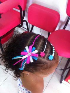 Solo Peinados, Peinados Bellos, Trensa Tejida, Peinado Infantiles, Niños, Beautiful Hairstyles