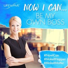 Become a part of the #LifeWave #health revolution! Now you can easily share the health benefits of our products while earning income for yourself. We provide the training tools, you share your product experience, and together, we'll #MakeItHappen and #MakeItMatter! Already a part of LifeWave? Tell us how you got started and tag someone you want to JOIN in the comments below!  http://lifewave.com/usa-en/opportunity.asp  #NowICan #BeMyOwnBoss #WFH
