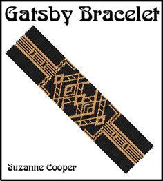Gatsby Bracelet Pattern at Sova-Enterprises.com