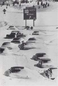 The Blizzard of 1978. The state completely shut down for a week and Rhode Island was declared a disaster area.