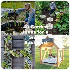 Do you have a small backyard? Now everyone wants their home and garden to look terrific. Its very easy to look at a large yard and get envious of a bigger space. But we have a terrific treat just for you: 40 projects that are especially great for smaller backyards. If you have a petite …