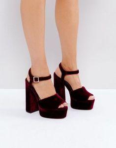 ASOS HAWKSMOORE Platform Sandals