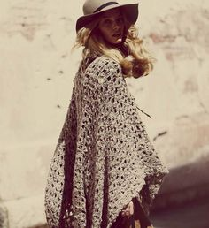 Marloes Horst | Free People August 2011