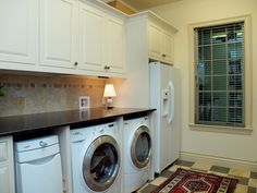 A second refrigerator in the laundry room...definitely if you have the room! Better than in the garage