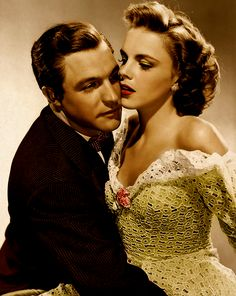Gene Kelly and Judy Garland promo photo For Me and My Gal, 1942