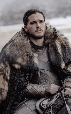 My Jon in Stark armor. ♥ The Prince Who Was Promised. R + L = J