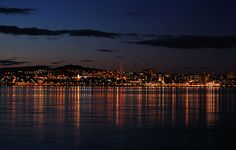 Beautiful Night Skyline Dundee at night  #Dundee