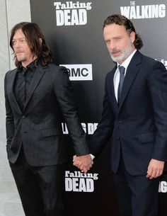 reedusgif: Norman Reedus and Andrew Lincoln at... - Rickyllovers